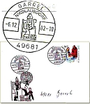 Stempel Brief Nikolausdorf